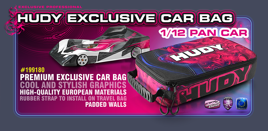 New HUDY Car Bag - 1/12 Pan Car