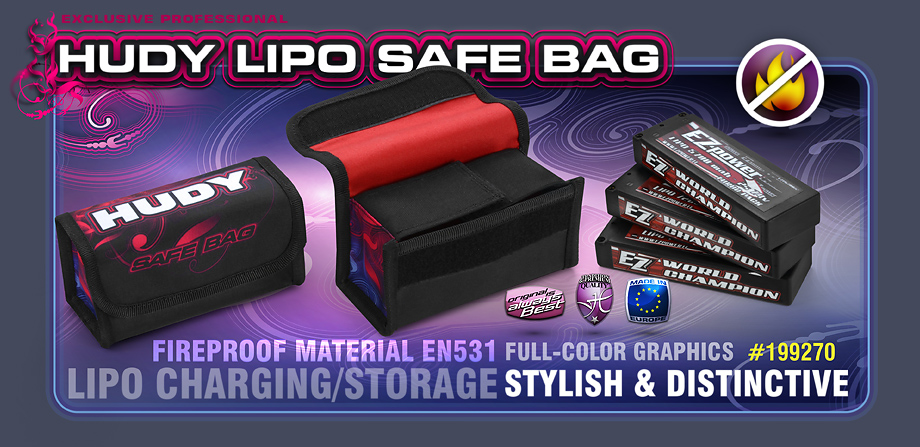 HUDY LIPO SAFE BAG