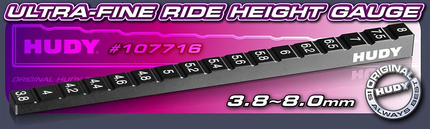 HUDY Ultra-Fine Ride Height Gauge