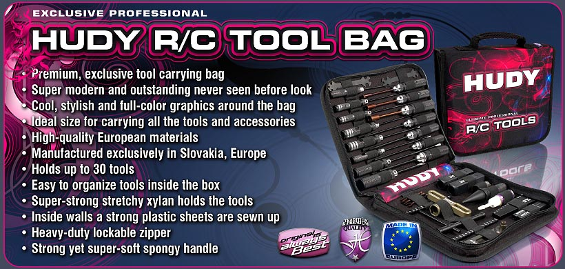 HUDY RC Tools Bag