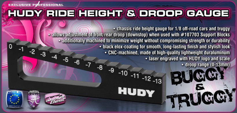 HUDY Ride Height Gauge