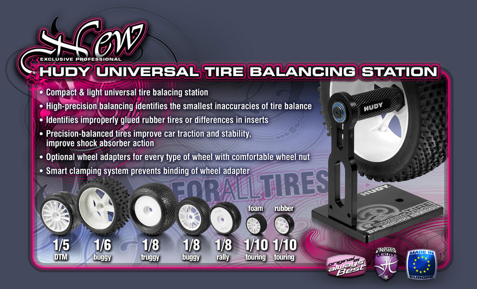 HUDY Universal Tire Balancing Station