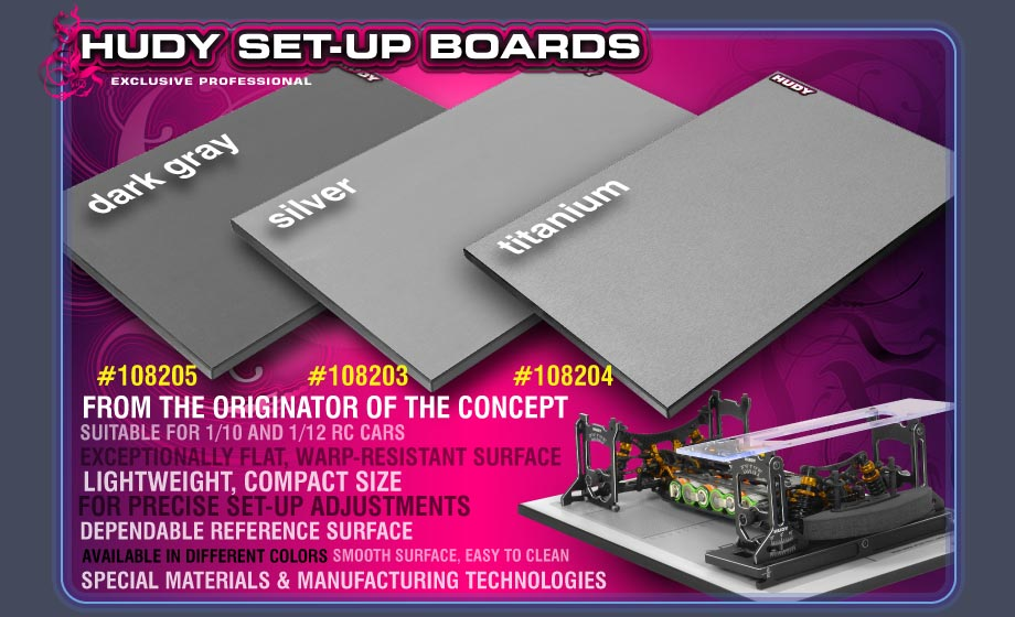 HUDY Set-up Board
