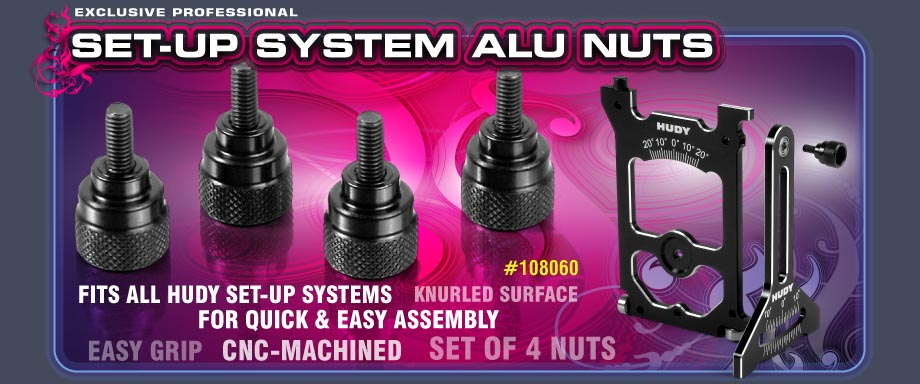 System Set-up Alu Nuts