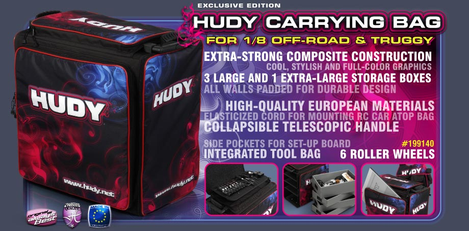 Hudy Carrying Bag for 1/8 OFF-ROAD & TRUGGY