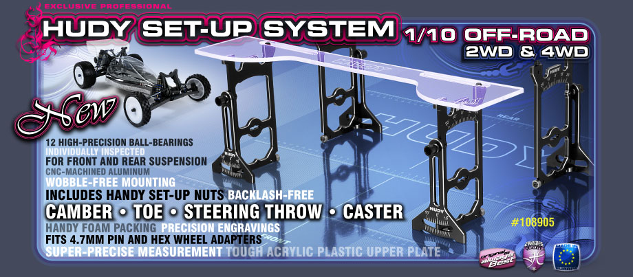 HUDY Set-up System