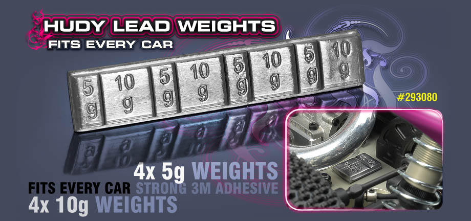 HUDY Lead Weights