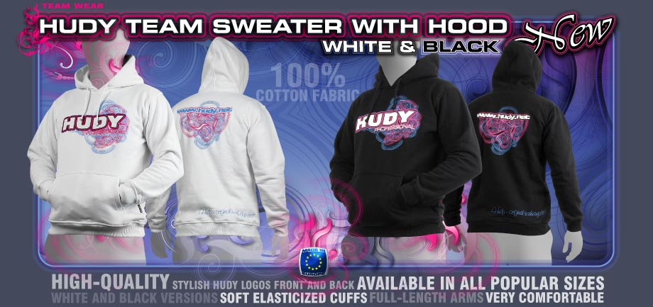 HUDY Team Sweater with Hood