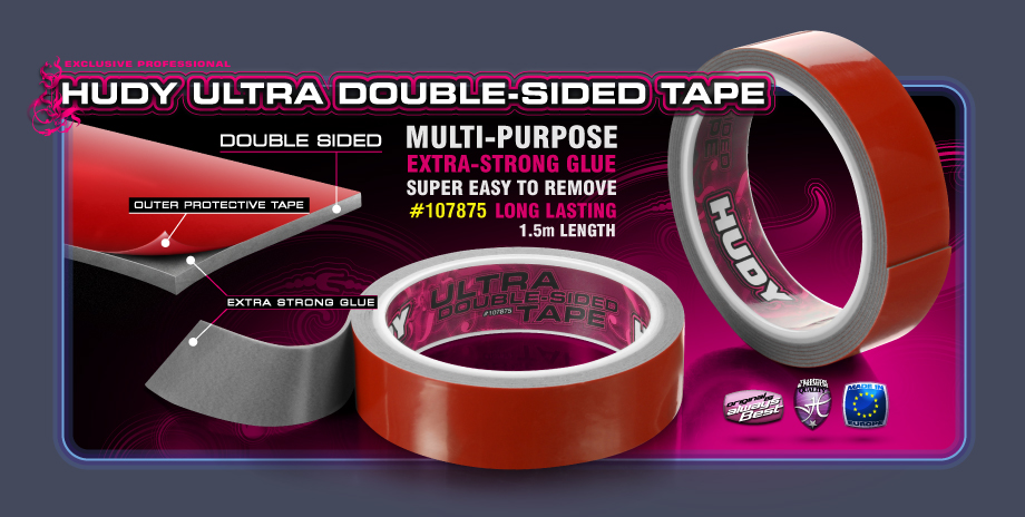 New HUDY Ultra Double-sided Tape