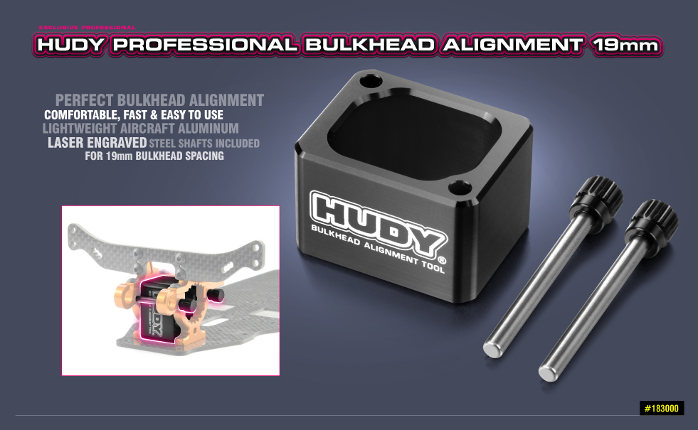 HUDY ULTIMATE PROFESSIONAL R/C PRODUCTS