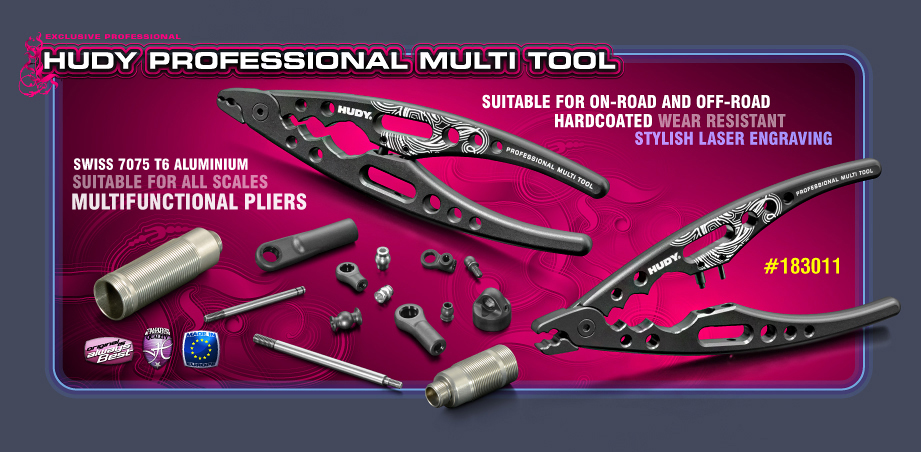 New HUDY Professional Multi Tool