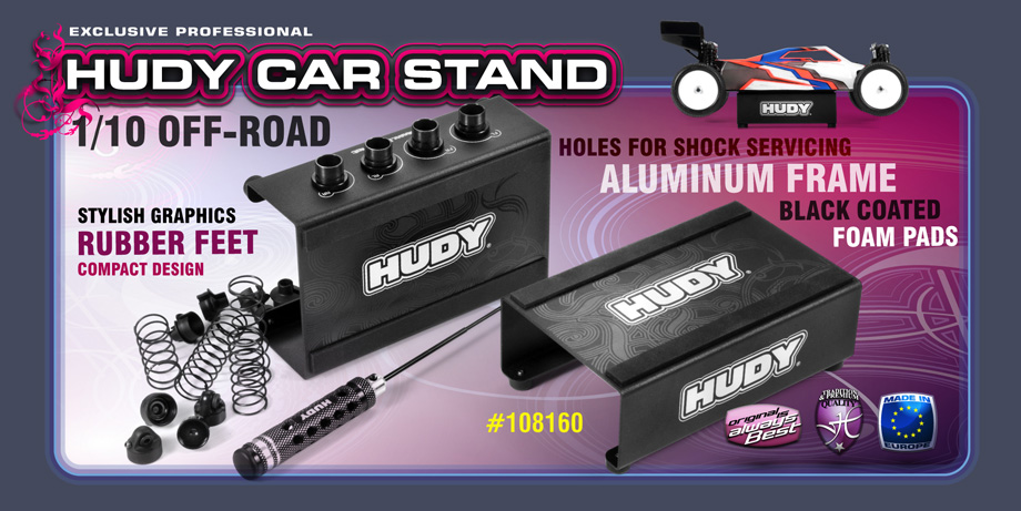 HUDY CAR STAND 1/10 OFF-ROAD