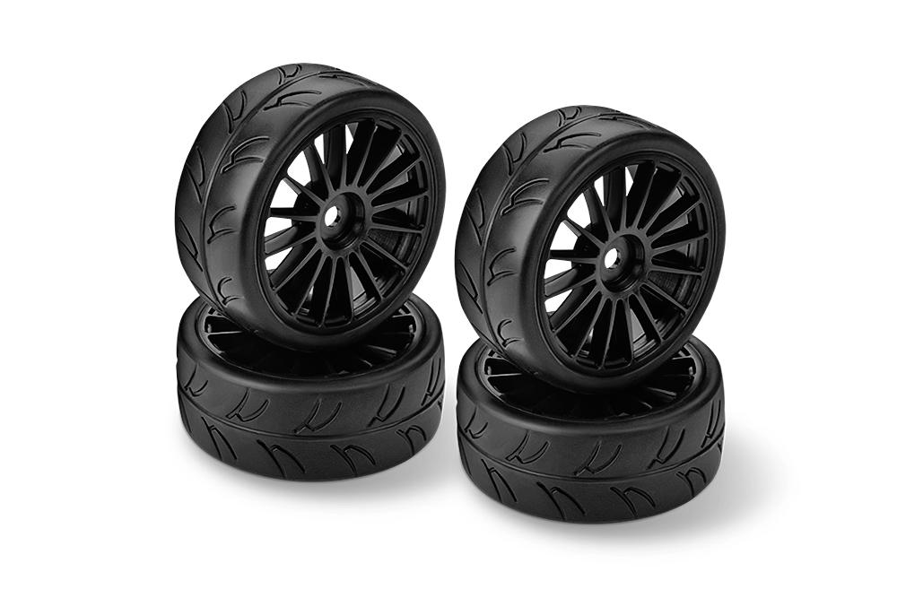 HUDY 1/10 Slick Tires Right & Left
